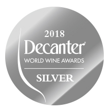 Silver medal in Decanter 2018